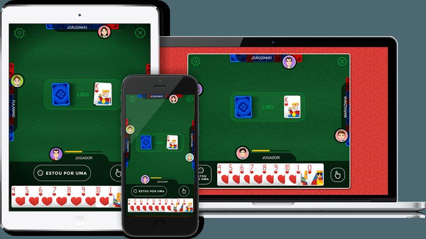 jogo de cacheta online
